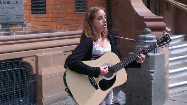 Singer in the Street